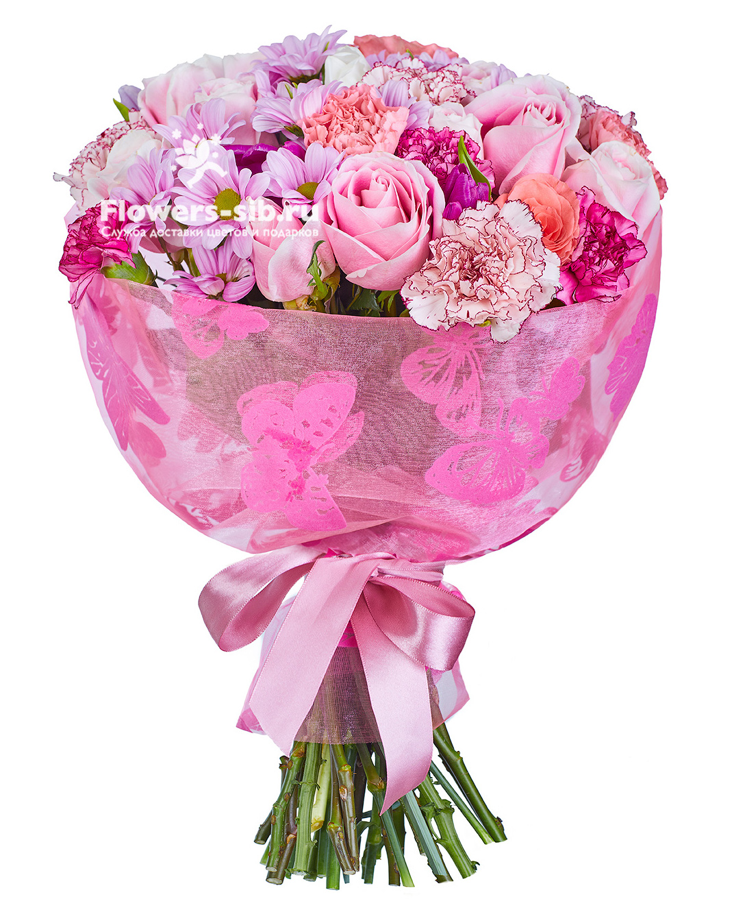 Pink cloud at the price 10670 - delivery of bouquets flowers and ...